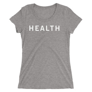 HEALTH STANDARD BADGE Ladies' short sleeve t-shirt