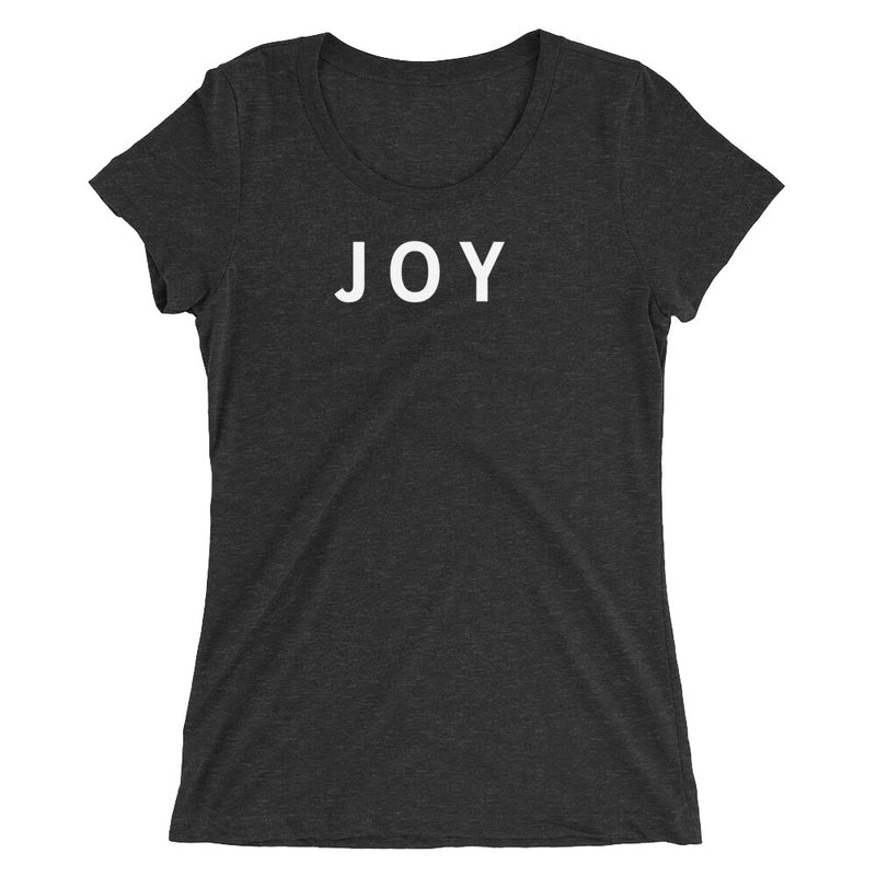 JOY STANDARD BADGE Ladies' short sleeve t-shirt