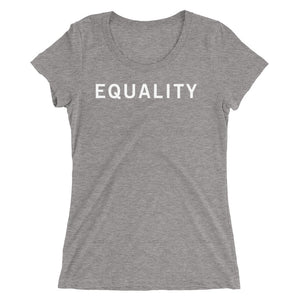 EQUALITY STANDARD BADGE Ladies' short sleeve t-shirt