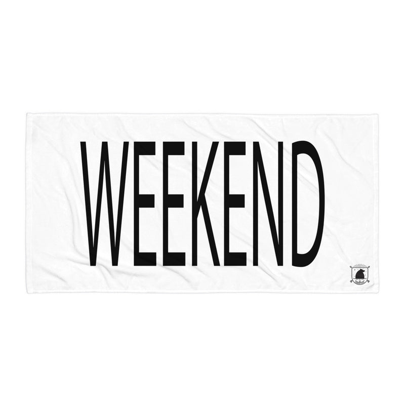 STANDARD BADGE WEEKEND TOWEL LARGE