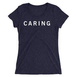 CARING STANDARD BADGE Ladies' short sleeve t-shirt