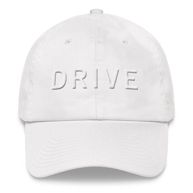 DRIVE White Ball Cap >>3D