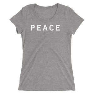 PEACE STANDARD BADGE Ladies' short sleeve t-shirt