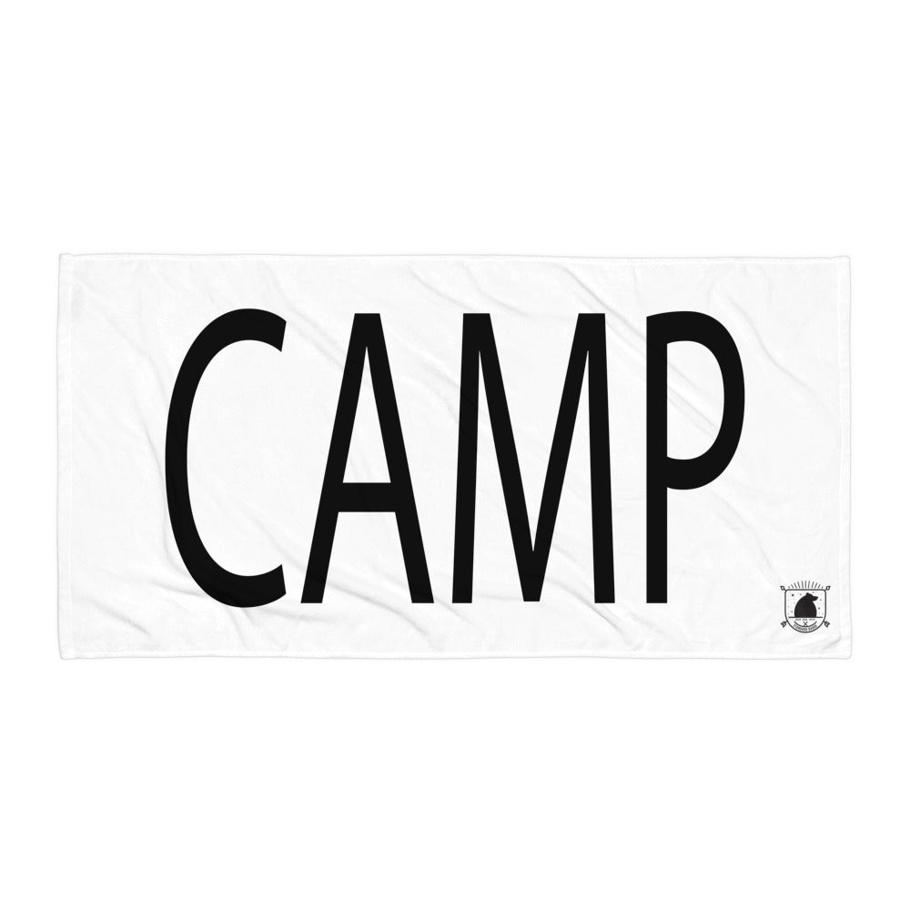 STANDARD BADGE CAMP TOWEL LARGE