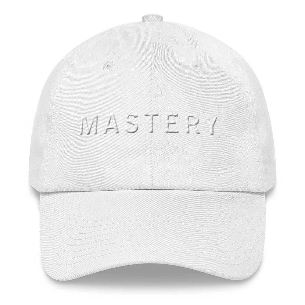 MASTERY White Ball Cap >>3D