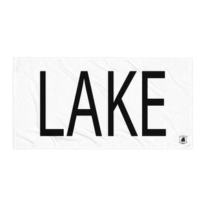 STANDARD BADGE LAKE TOWEL LARGE