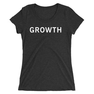 GROWTH STANDARD BADGE Ladies' short sleeve t-shirt