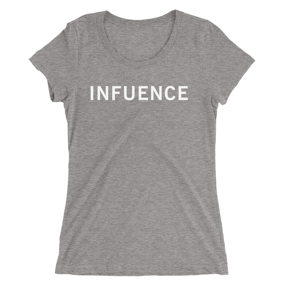 INFLUENCE STANDARD BADGE Ladies' short sleeve t-shirt