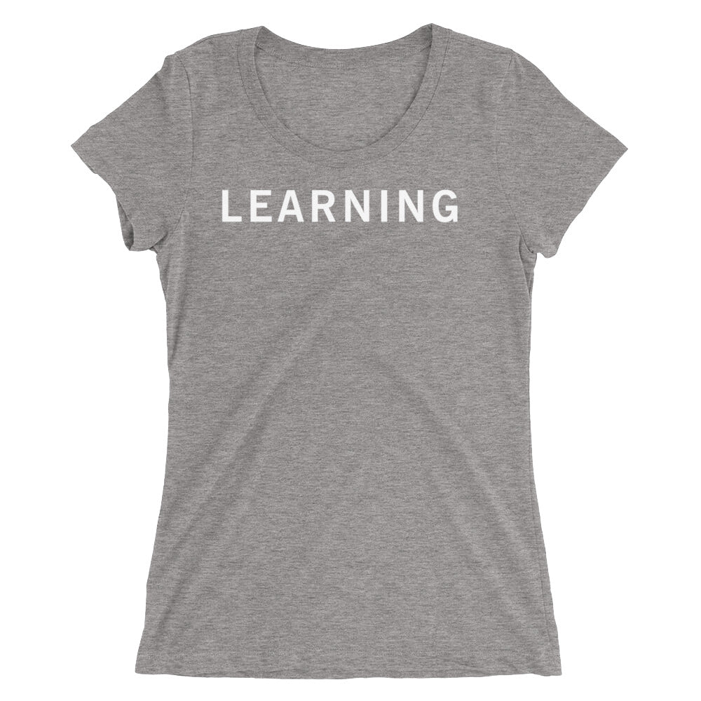 LEARNING STANDARD BADGE Ladies' short sleeve t-shirt