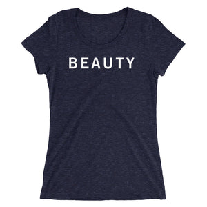 BEAUTY STANDARD BADGE Ladies' short sleeve t-shirt