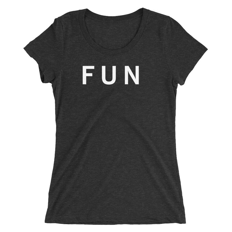 FUN STANDARD BADGE Ladies' short sleeve t-shirt