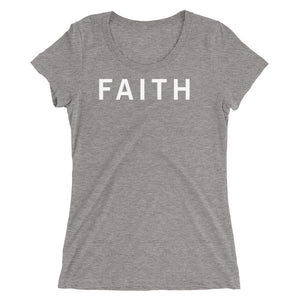 FAITH STANDARD BADGE Ladies' short sleeve t-shirt