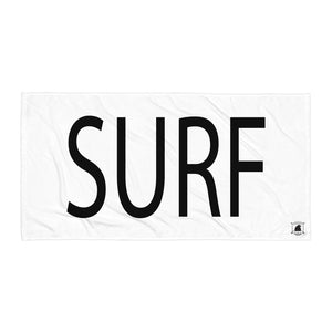 STANDARD BADGE SURF TOWEL LARGE