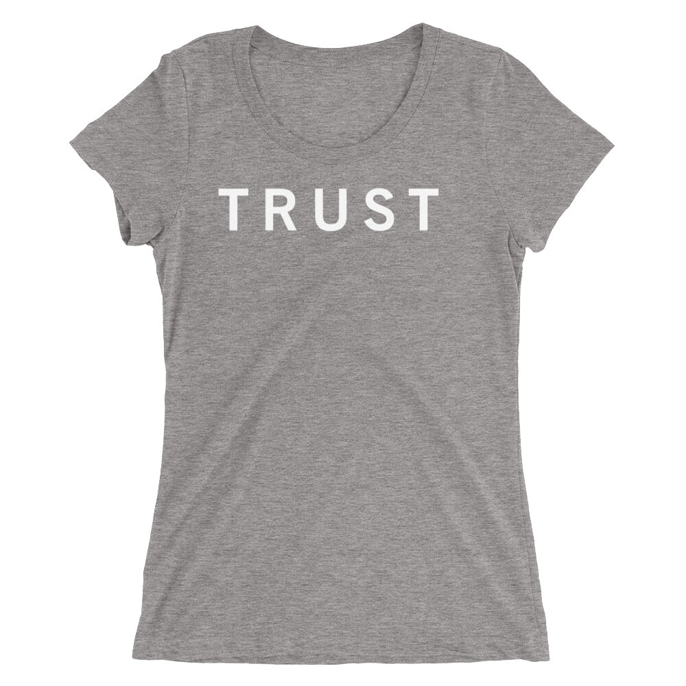 TRUST STANDARD BADGE Ladies' short sleeve t-shirt