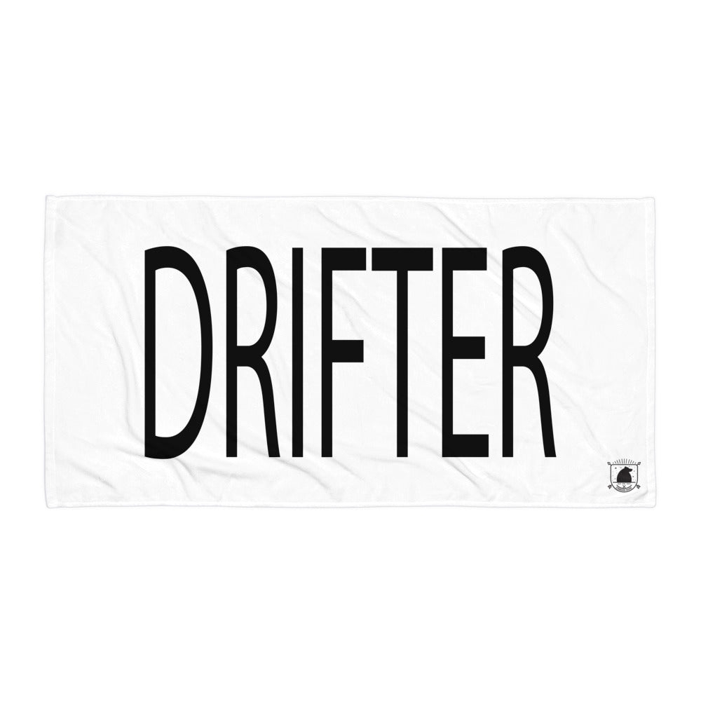 STANDARD BADGE DRIFTER TOWEL LARGE