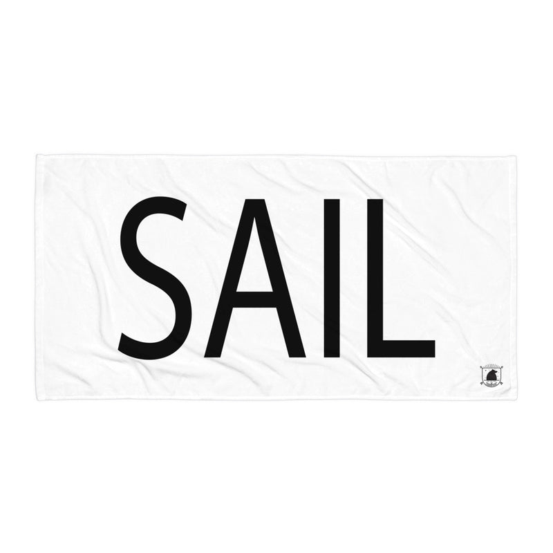 STANDARD BADGE SAIL TOWEL LARGE