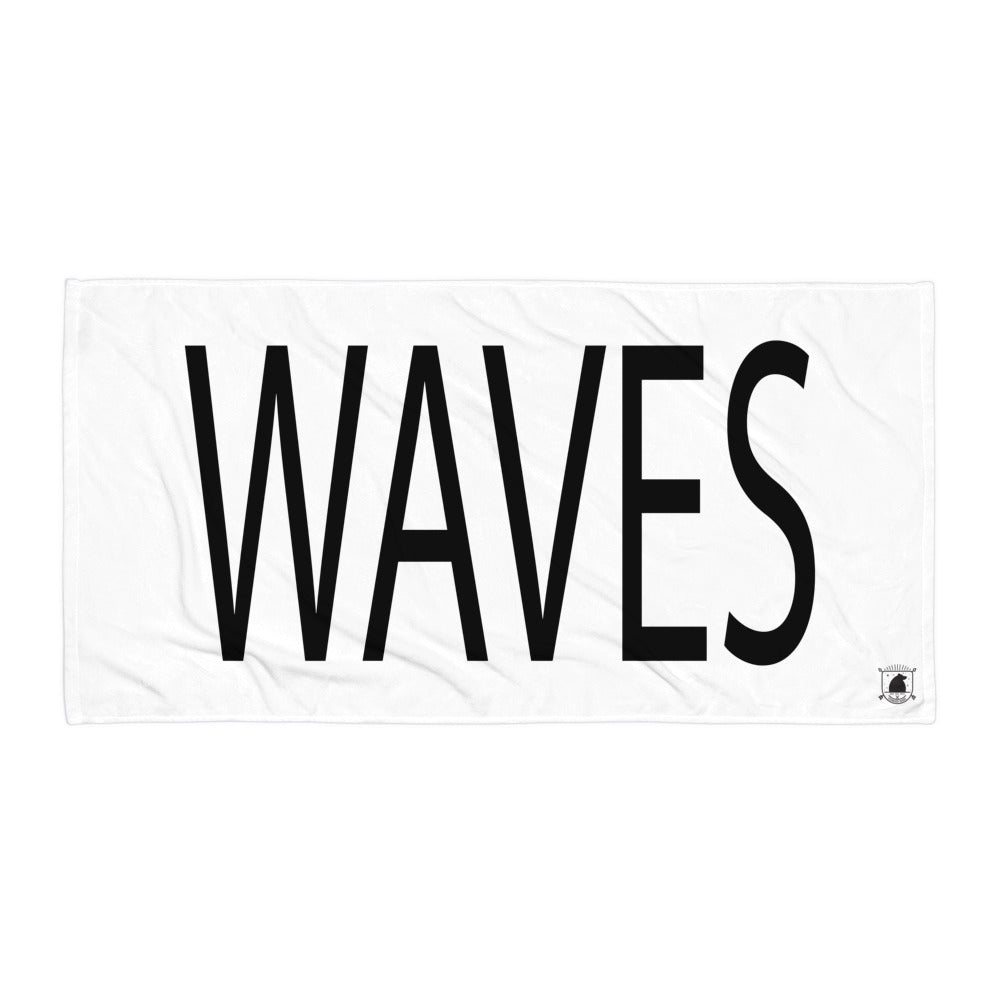 STANDARD BADGE WAVES TOWEL LARGE