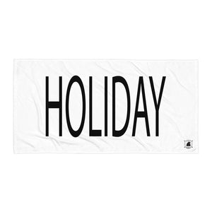 STANDARD BADGE HOLIDAY TOWEL LARGE