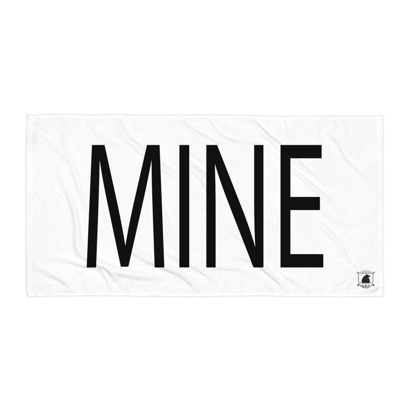 STANDARD BADGE MINE TOWEL LARGE
