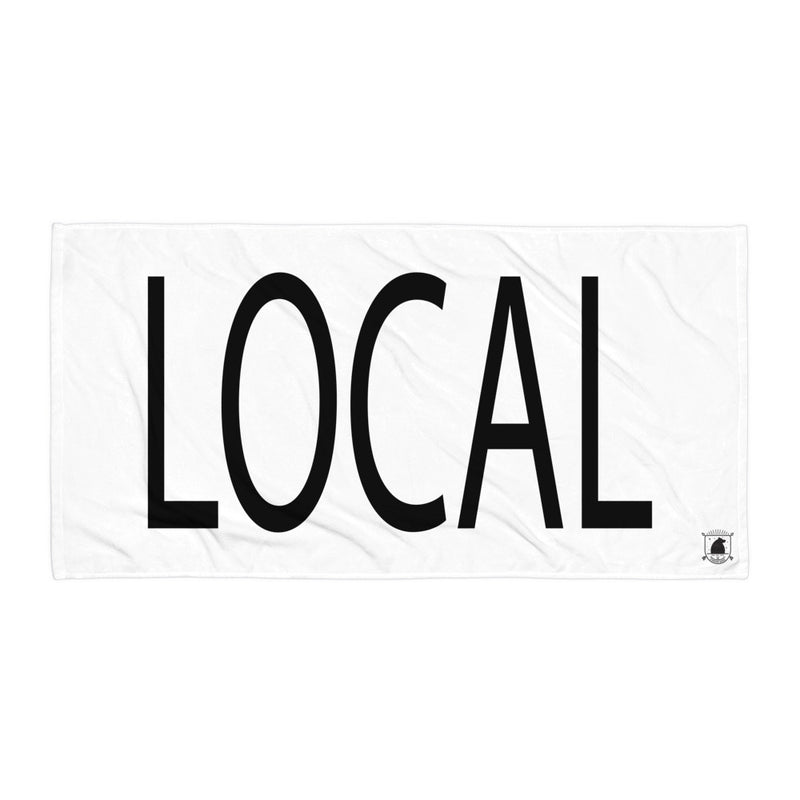STANDARD BADGE LOCAL TOWEL LARGE