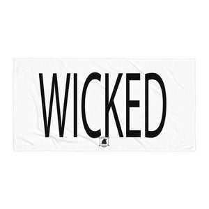 STANDARD BADGE WICKED TOWEL LARGE