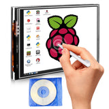 Raspberry Pi 3 Model B 3.5 Inch Touch Screen Display