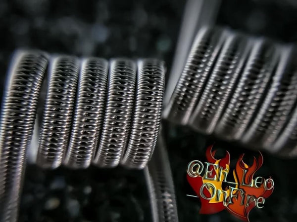Custom Staggered Fused Clapton Coils