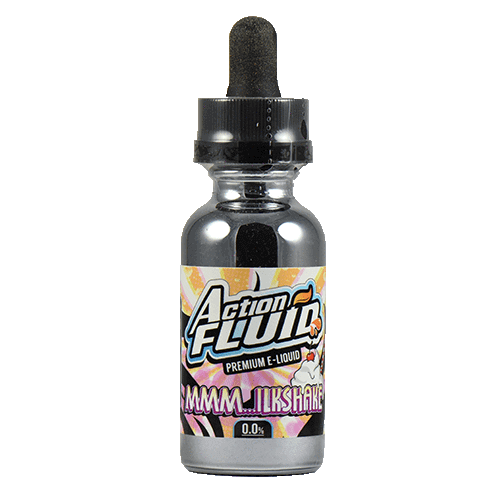 Action Fluid Premium E-Liquid - MMM..ilkshake