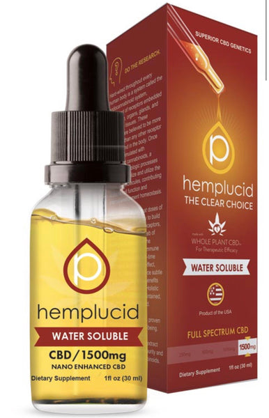 Hemplucid Water Soluble CBD