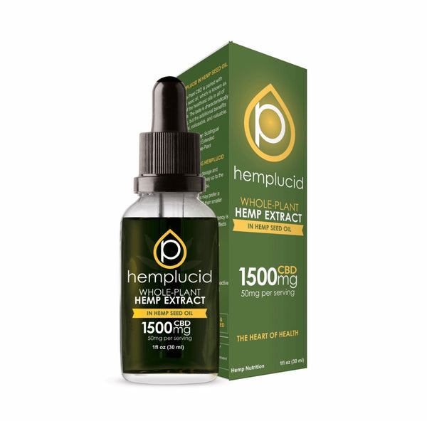 Hemplucid's Hemp Seed Oil