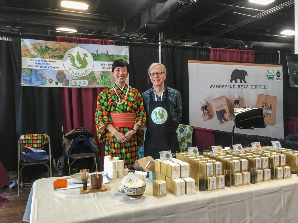Day one at the Coffee and Tea Festival