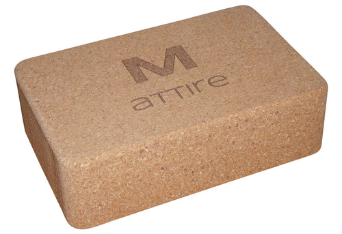 Mattire Cork Yoga Block