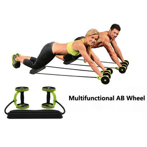 Double Wheels Ab Roller