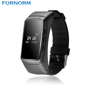 FORNORM 2 in 1 Wristband Sports Smart Bracelet Wristband+Bluetooth Earphone