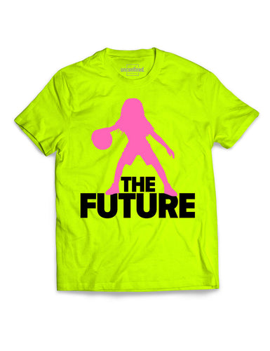 Youth Performance Tee - Volt/Pink/Black