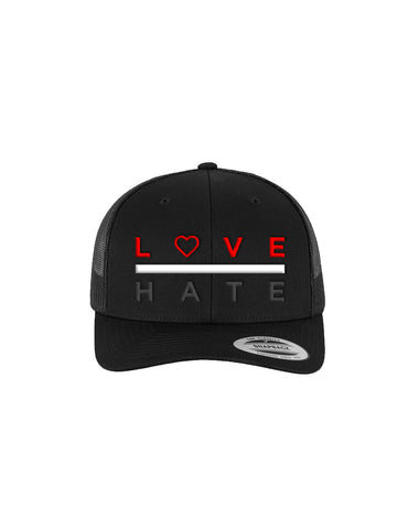 Love Over Hate - Snapback Trucker Hat