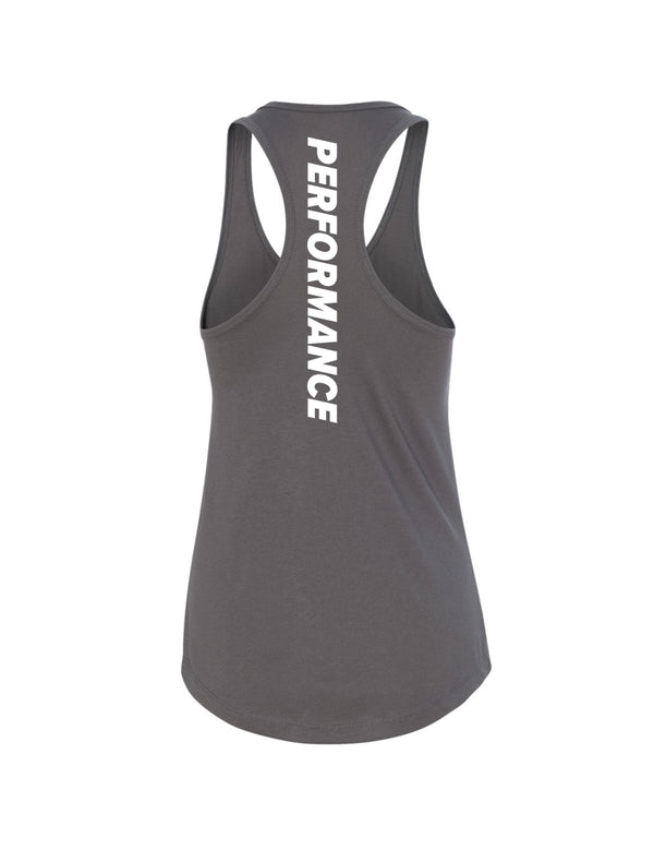 Performance Tank - Grey/Teal - Unconfined. Apparel