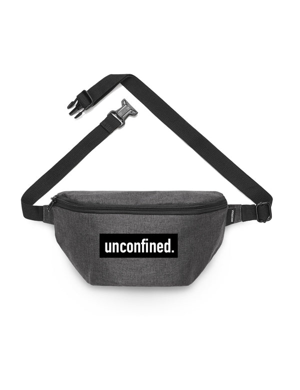 Contrast Waist Bag - Asphalt - Unconfined. Apparel