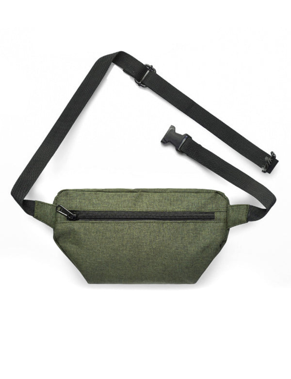 Contrast Waist Bag - Army - Unconfined. Apparel