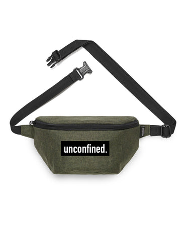 Contrast Waist Bag - Army