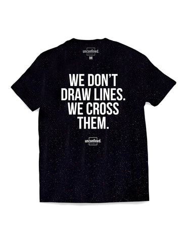 Tagline Tee - Black Speckled