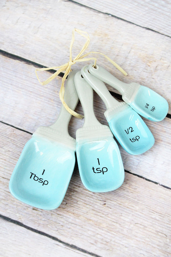 Measuring Spoon Set - Light Blue