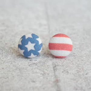 Earrings ~ American Flag