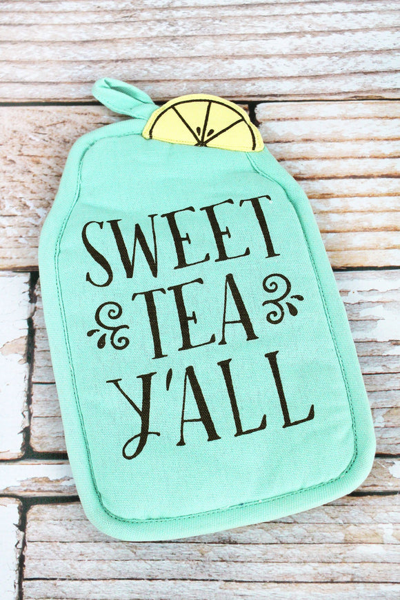 Sweet Tea Pot Holder