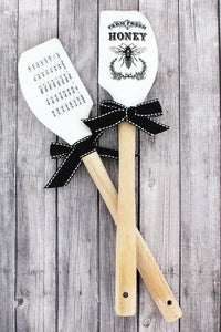 Farm Fresh Honey Bee Spatula