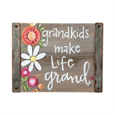 Block Sign Decor - Grandkids Make Life Grand