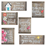Block Sign Decor - No Place Like Home
