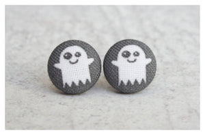 Earrings ~ Happy Ghost