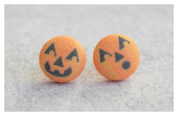 Earrings ~ Jack O Lantern