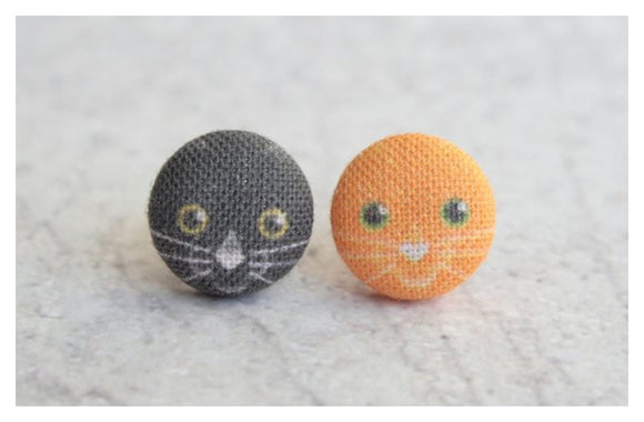 Earrings ~ Halloween Kitties